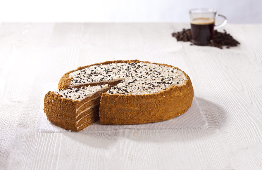 Coffee Honey Cake