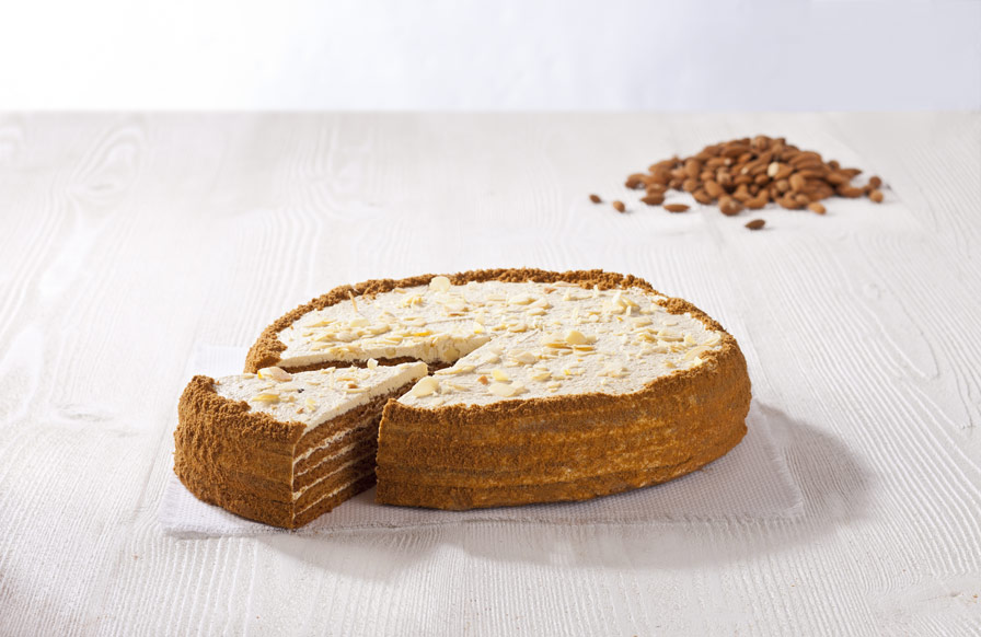 Almond Honey Cake
